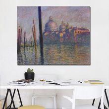 Claude Monet Poster Vintage HD Wall Art Canvas Painting Posters Prints Modern Painting Wall Pictures For Living Room Home Decor claude monet oil painting canvas painting lotus painting wall art wall pictures for living room home decor caudros decoracion13