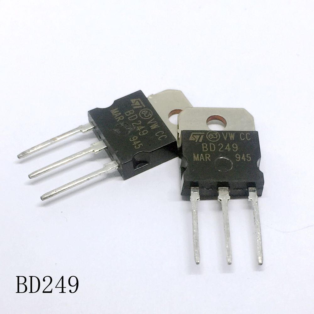 Power transistor <font><b>BD249</b></font> TO-218 25A/55V 10pcs/lots new in stock image