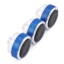 цена на 3 Pieces/Set Refit For Ford Focus 2 Focus 3  Knob Car  Air Conditioning Heat Control Switch Knob For