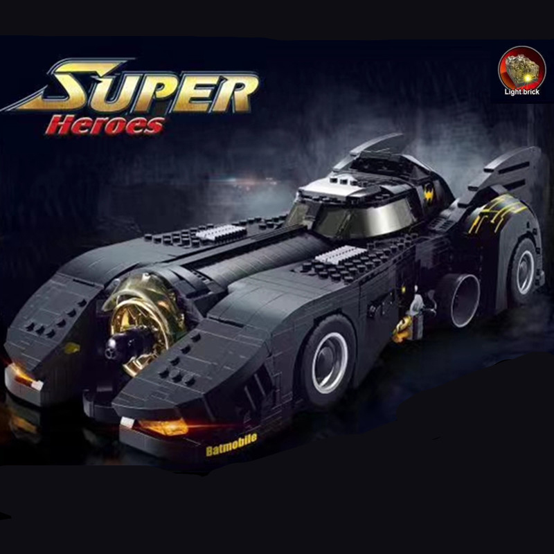 Decool 7144 The Ultimate Batmobile Compatible Moive Moc-15506 Bulding Blocks Bricks Educational Toys Birthdays Gifts For Boy