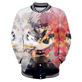Bnha Cosplay Dabi My Hero Academia Jacket Anime Shirt Japanese Sweatshirt 3D Post print jacket  hero academia costume For Young