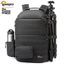 """Genuíno lowepro protactic 450 aw / 450 aw ii bolsa de ombro câmera slr mochila com capa para todas as condições meteorológicas 15.6 """"portátil"""