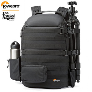 """Image 1 - Genuine Lowepro ProTactic 450 aw / 450 aw II shoulder camera bag SLR backpack with all weather Cover 15.6"""" laptop"""