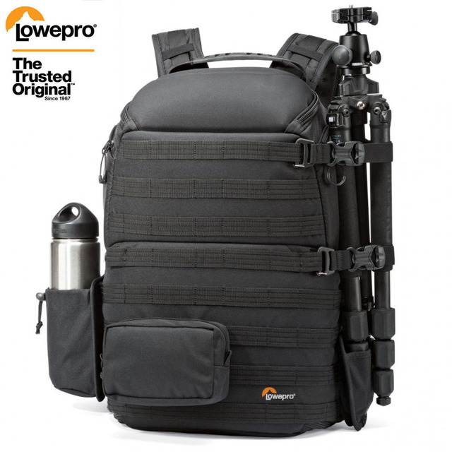 """Genuine Lowepro ProTactic 450 aw / 450 aw II shoulder camera bag SLR backpack with all weather Cover 15.6"""" laptop"""