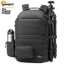 Oryginalna torba fotograficzna na ramię Lowepro ProTactic 450 aw torba na aparat slr plecak na laptopa z pokrowcem na każdą pogodę 15 6 Cal Lapto tanie tanio NoEnName_Null DSLR Camera Uniwersalny Torby aparatu Plecaki NYLON Hard Bag Backpacks