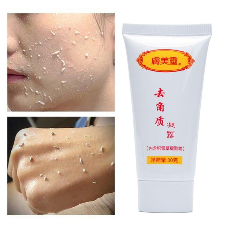 Facial Scrub Ginger Exfoliating Gel Facial Cleanser Nourishing Cleanser Face Wash Anti-spot Gel Hyaluronic Acid Moisturizing