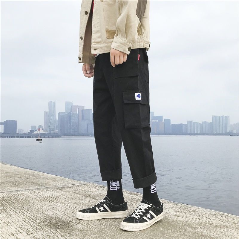 US $10.79 45% OFF|Quality trousers Letter Printed Women Men Jogging Pants Hip hop Streetwear Men SweatpantS|Casual Pants| |  - AliExpress