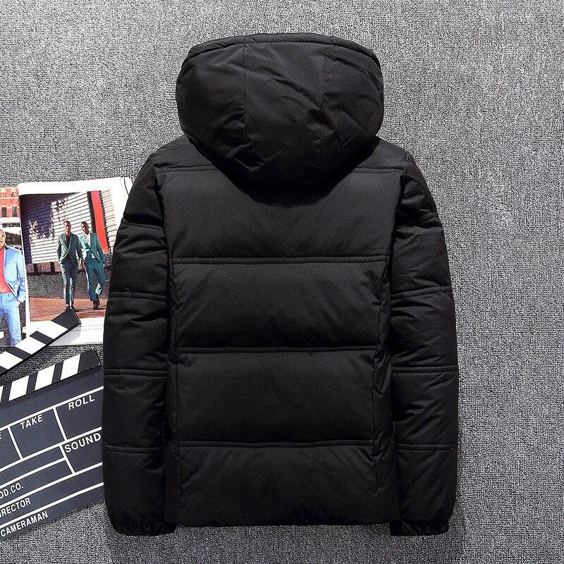Autumn Winter Duck Down Jacket Men Clothes 2020 Men's Down Jacket Thick Short Coat Puffer Jackets Casaco Masculino KJ795