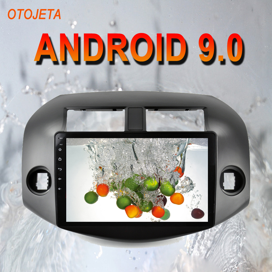 OTOJETA Android 9.0 2.5D Screen <font><b>Car</b></font> Radio Player Head Unit For <font><b>Toyota</b></font> <font><b>RAV4</b></font> <font><b>2006</b></font> 2011 <font><b>Multimedia</b></font> auto Stereo GPS tape recorder image