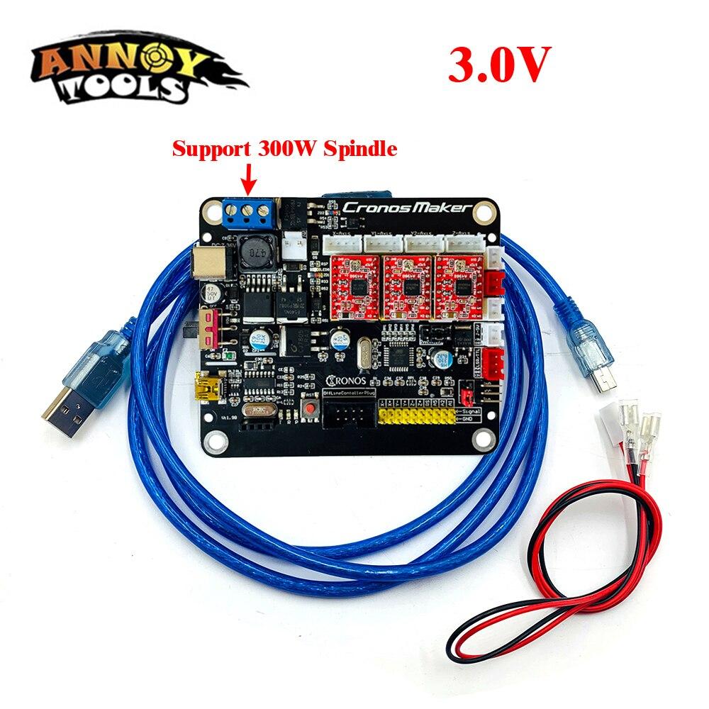 Cnc 3018 3 eixos controlador placa motorista grbl 1.1 offline controlador xyz limite interruptor para cnc roteador cnc máquina de gravura do cnc