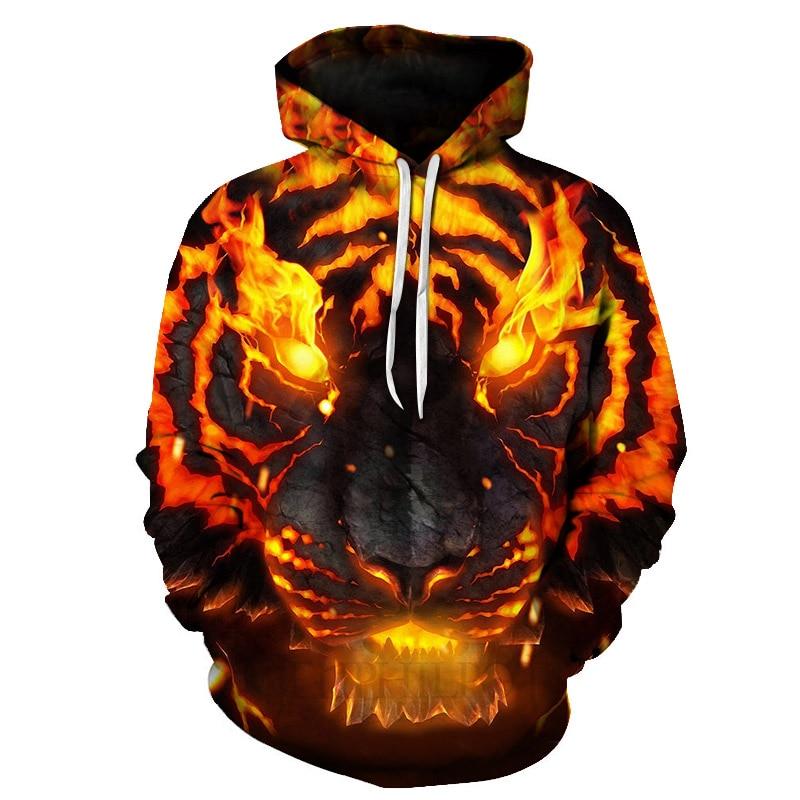Animal Print Hoodies Plus Size 3d Lion Sweatshirts Men/Women Casual Hoodie Pullover Tracksuit Jacket Unisex Hoody Poleron Hombre