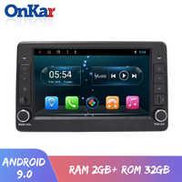 Radio de coche ONKAR 1 din android para Renault Arkana 2019 con android 9,0 compatible con control original del volante con puerto SD USB