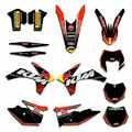 Moto Squadra Decal Sticker Graphic Kit DECO Per KTM EXC EXCF 125 200 250 300 350 450 2012 2013 XC 2011