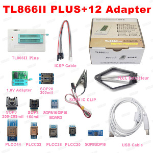 Image 3 - V9.00 XGecu 100% orijinal TL866ii Plus EEPROM programcı daha iyi thanTL866CS Bios Nand programcı PIC AVR 24 93 25 MCU Bios EPROM