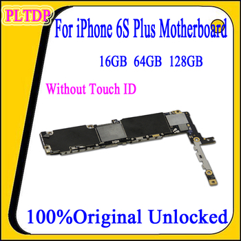 Original  for iPhone 6S Plus Motherboard With/without  Touch ID ,100% Original Unlocked Logic  Board