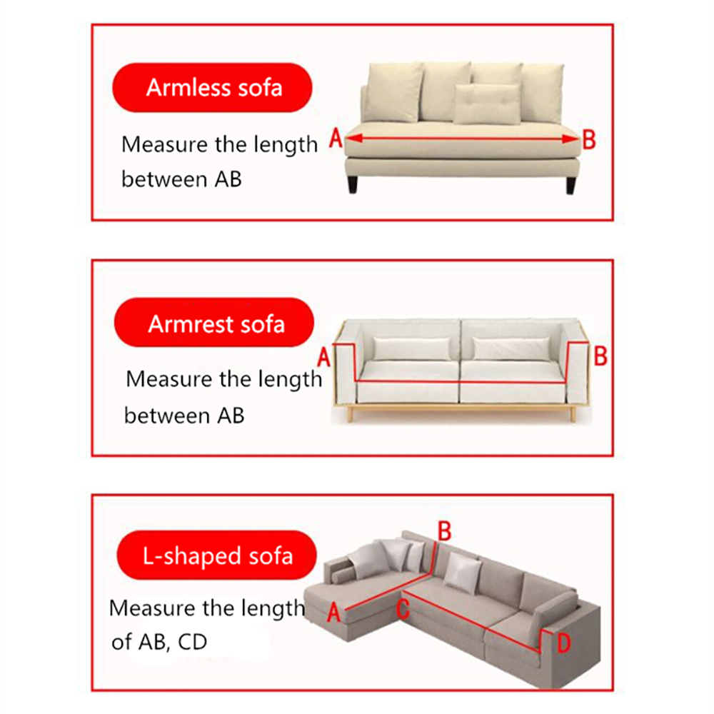 Image 5 - Simple Sofa Cover Elastic For Living Room Printed Cover For Sofa Slipcovers Stretch 1/2/3/4 SeatSofa Cover