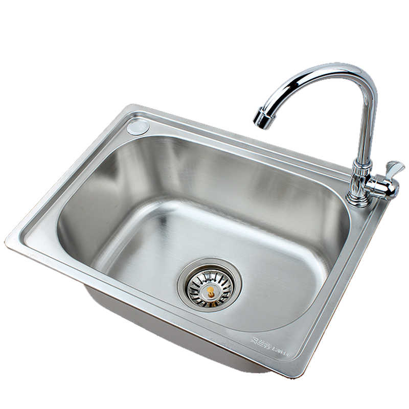 kitchen sink stainless steel single