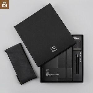 Image 2 - Neue xiaomi youpin kinbor business anzug stift notebook Lesezeichen Bleistift fall Büro geschenk anzug Praktische hohe qualität