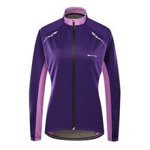 Теплая Флисовая велосипедная куртка для женщин ветрозащитная
