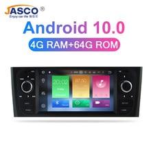 Android 10.0 4g ram carro dvd estéreo unidade central para fiat grande punto linea 2008 2009 2010 2011 2012 auto rádio navegação gps
