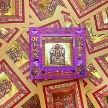40 folhas de ouro mazu ouro inferno banco notas o festival qingming queima de papel sacrifício artigos papel memorial