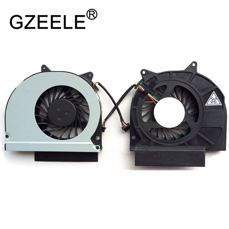 GZEELE New CPU Cooling Fan For Dell Latitude E6420 Laptop Notebook Cooler Radiator Mf60120v1-c360-g9a 4pin Connector Cooling FaN