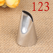 1pcs Petal Rose Tulip Icing Piping Tip Nozzle Decorating Pastry Tips Fondant Cake Sugarcraft Tool Bakeware
