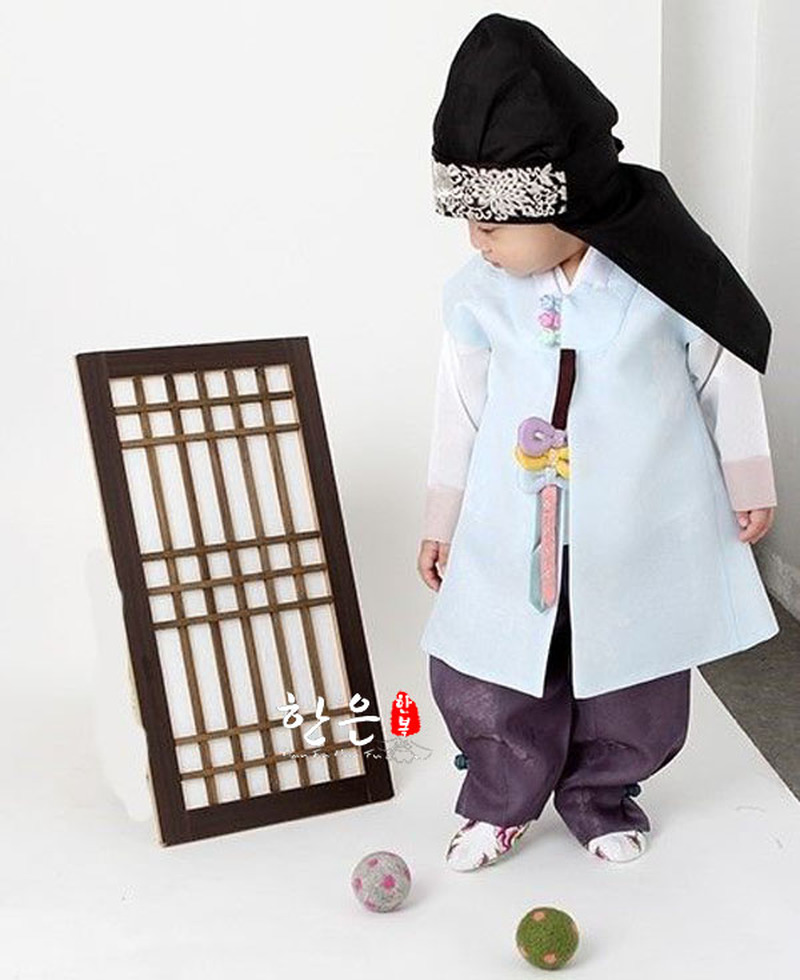 Clothing Korean-Clothes/boys Birthday Children's Fabric First Gift Hanfu New Imported