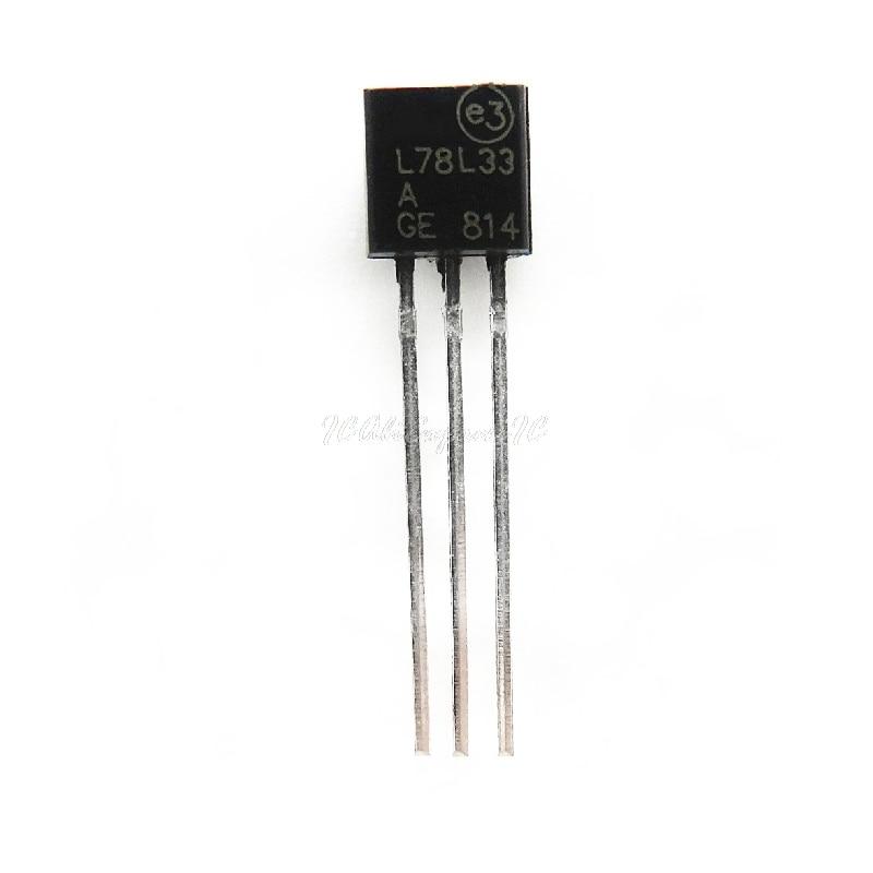 10 шт./лот L78L33ACZ TO-92 78L33 L78L33 TO92 L78L33A 3,3 V регулятор напряжения в наличии на складе