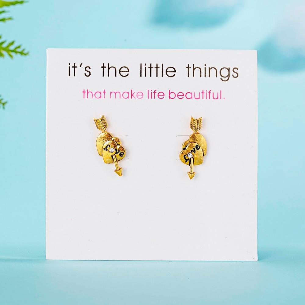12 Pairs/set Stud Earrings Set With Card Transparent Zircon Balls Love Flowers Earrings Women Imulated Pearl Earrings Jewelry 96