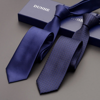 High Quality 2019 Fashion New Business Wedding Ties for Men Tie slim 6cm Necktie Designers Brand Casual Neck Tie with Gift Box
