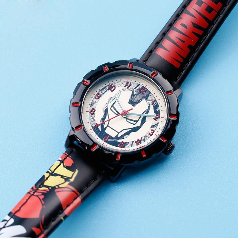 Большая распродажа Железный Человек смотреть дети кварцевые прохладный наручные часы мальчика подарок подруги ребенок детские игрушка счастливое время партия представит детско-юношеского спорта
