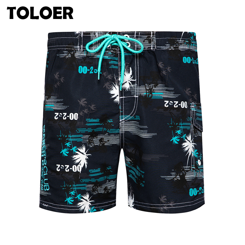 Summer Mens Board Shorts Printed Casual Quick Drying Swimming Beach Surf Board Short Pants for Men Printed Fashion Mens Shorts