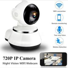 цена на 720P HD Wireless Wifi IP Camera Home Security Surveillance Camera 3.6mm Lens Wide Angle Indoor Camera Support Night Vision