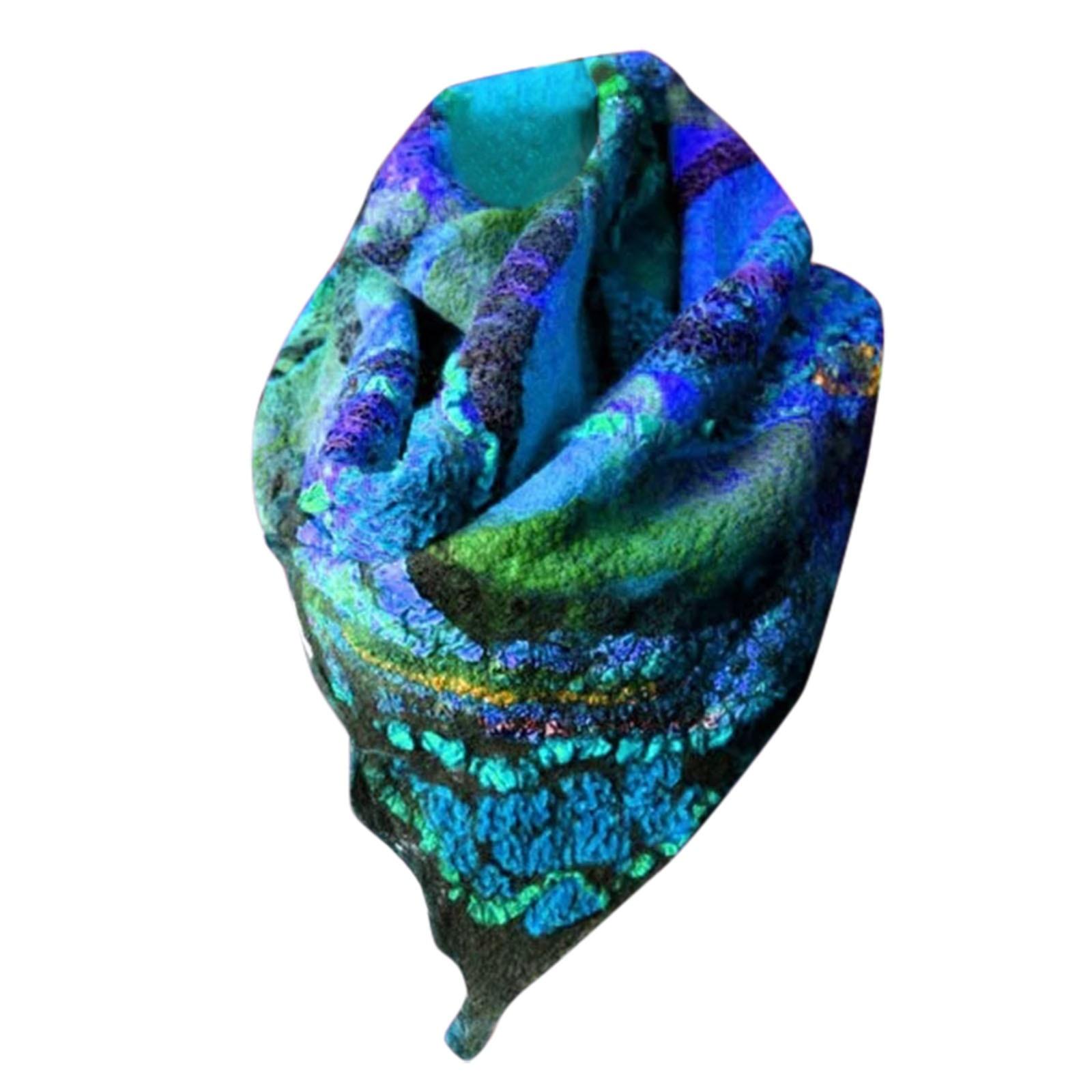 D 2020 Fashion Winter Scarf For Women Fashion Retro Printing Button Soft Wrap Casual Warm Scarves Shawls Scarf шарф женский