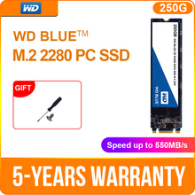 Western Digital WD Internal SATA M.2 SSD 250GB 500GB NGFF Solid State Drive 1TB 2TB Internal M.2 2280 ssd for PC Laptop