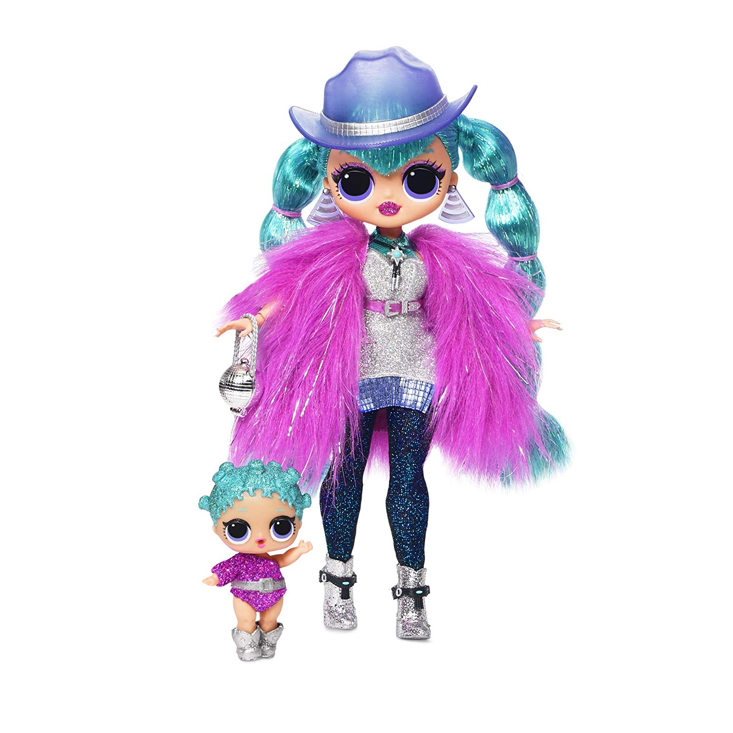 Winter Disco Dollie Fashion Doll /& Sister 1 New Sealed LOL Surprise O.M.G