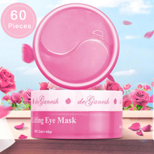 60pcs Moisturizing Firming Eye Masks Collagen Crystal Smooth Eye Patches For eye Patch Dark Circles Fine Lines Removal