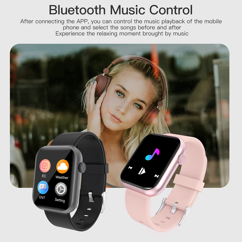 P9 Smart Watch Men Woman Full Smartwatch Built-in game IP67 waterproof Heart Rate Sleep Monitor For iOS Android phone CLOVER JEWELLERY