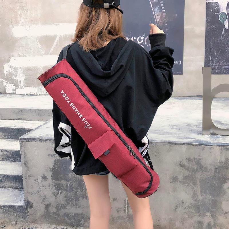 Fashion Portable Yoga Mat Bag Carrier Shoulder Crossbody Sport Bags For Women Men 2020 Gym Bags Bolsas Feminina Mujer Sac A Main