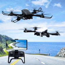 1808 WIFI FPV With 4K Wide Angle Camera Optical Flow Altitude Hold Mode Foldable RC Drone