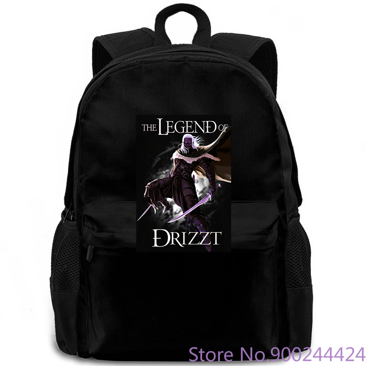 <font><b>Drizzt</b></font> Do'Urden The Crystal Shard Forgotten Realms Salvatore Size S-3XL New Men Fashion backpack image