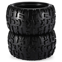 RC 2PCS 1:8 Big Wheel for Redcat Hsp Kyosho Hobao Hongnor Team Losi GM DHK HPI and Other Brands 1/8 Truggy Monster Truck Tire