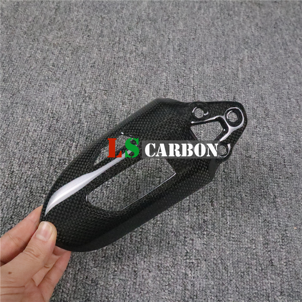 Motorcycle Shock Protection (shock Absorber Cover) For Ducati Panigale V2 899 959 1199 1299 Full Carbon Fiber