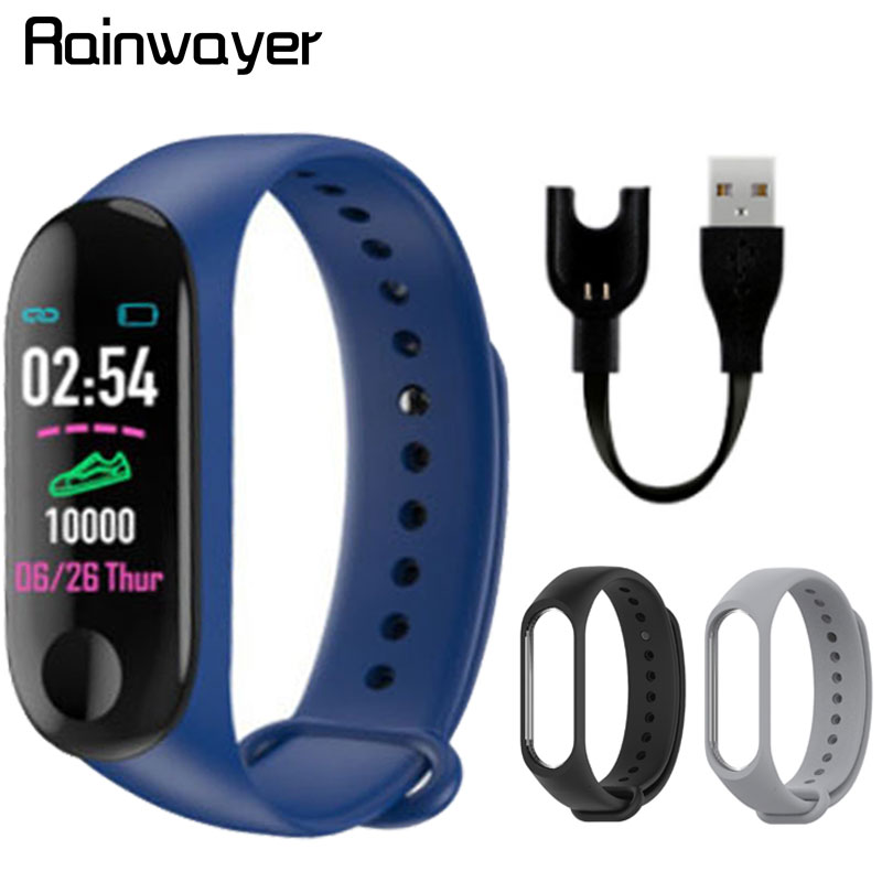M3plus Smart Wristband Smart Bracelet With Extra Strap Smart Band Heart Rate Activity Fitness Tracker Smart Watch M3 Pro M3 Plus