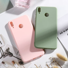Candy Color Case for Huawei Honor 9 10 Lite 8X Play 8A Cases On The for Huawei Mate 20 Lite 10 Pro Honor 8S 20 7A Pro 7C Bumper(China)