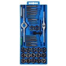Jeu d'outils avec robinet et dé, bouchons métriques M3-M12 filetage, clé de robinet 40 pièces en acier allié