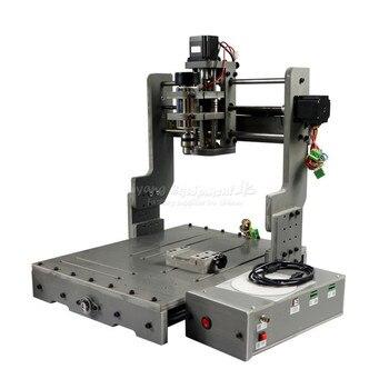 4 Axis CNC 3040 PCB Milling Machine CNC Router 3D Metal Cutting Machine Aluminum Engraver Mach3 Control 2