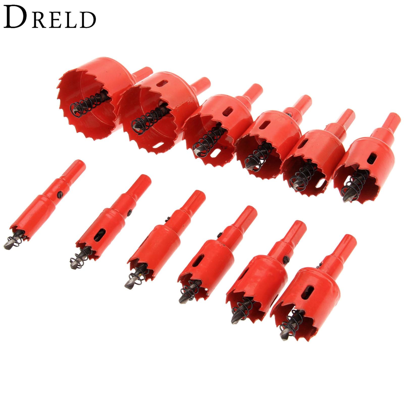 1Pc 16mm-53mm Drill Bit Hole Saw Twist Drill Bits Cutter Power Tool Metal Holes Drilling Kit Carpentry Tools For Wood Steel Iron