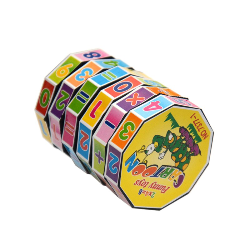 1pc Children Educational Toys Learning Mathematics Toys Kids Adult Stress Relief Toys Cube Puzzles Toys Gifts Hot